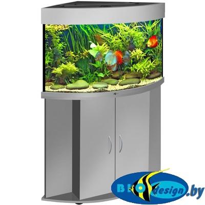 угловые аквариумы фото