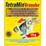 Корм в гранулах для всех декоративных рыб TetraMin Granules 15 г