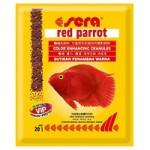 Sera Red Parrot 20 г — корм для цихлид (красных попугаев)