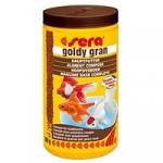 Sera Goldy gran 100 мл — гранулированный корм для золотых рыбок