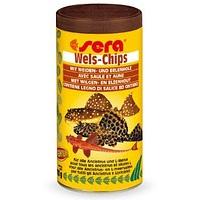 Sera Wels Chips корм для травоядных донных
