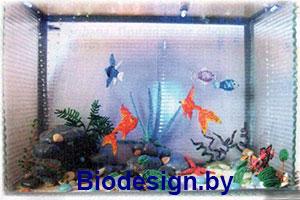 Фото искусственного аквариума