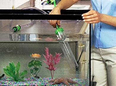 Уход за аквариумами