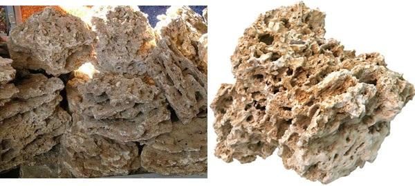 Камень песчаник для дизайна аквариума