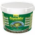 Tetra ReptoMin 10 л полноценный корм для водных черепах и других плотоядных рептилий
