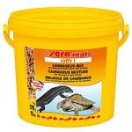 Sera Raffy I 370g — смесь сублимированных кормов для плотоядных рептилий