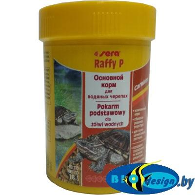 Sera Raffy P 100 мл 18g - корм для ежедневного кормления водных черепах