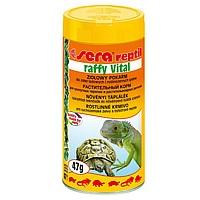 sera raffy Vital корм для сухопутных черепах растительный