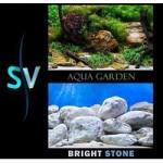 Фон двусторонний Hagen Aqua garden/Bright stone (Подводный сад/Светлые камни) аквариумный