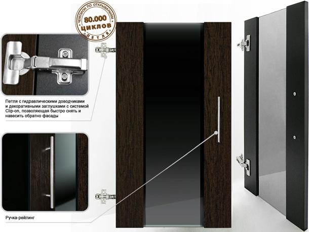 Дверки Ф-400 для подставки АТОЛЛ 400/500/650/1000 ПАНОРАМА 350/450/600 ДИАРАМА 400