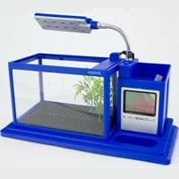 Аквариум органайзер AquaMe 1 л синий