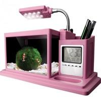 Аквариум органайзер AquaMe 1 л розовый