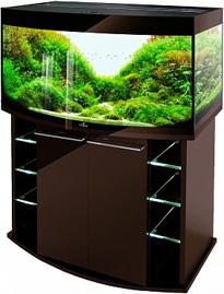 Аквариум Биодизайн Crystal Panoramic 210 шоколад суперглянец