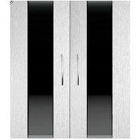 Дверки Ф-290 серебряный