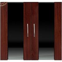 Дверки Ф-360 темная вишня