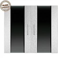 Дверки Ф-400 серебряный