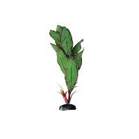 Искусственное шелковое растение Криптокорина Бекетти для декорирования аквариума