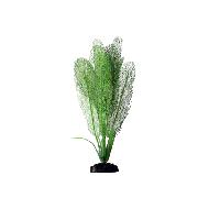 Искусственное шелковое растение Апоногетон мадагаскарский зеленый для декорирования аквариума
