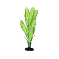 Искусственное шелковое растение Апоногетон Натанс для декорирования аквариума