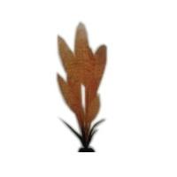 Искусственное шелковое растение Эхинодорус желтый для декорирования аквариума