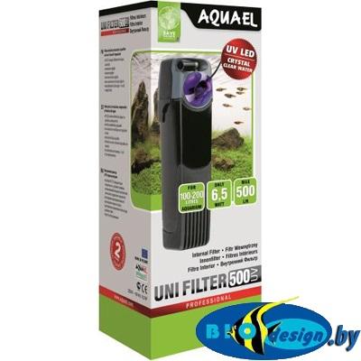 AquaEl Unifilter 500 UV - внутренний фильтр для аквариумов до 200 литров