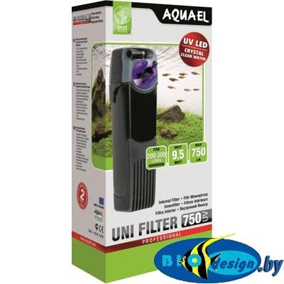 AquaEl Unifilter 750 UV - внутренний фильтр для аквариумов до 300 литров