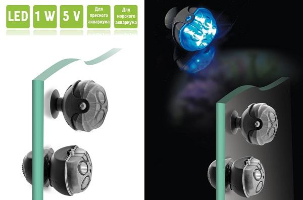 AQUAEL MOONLIGHT LED диодный светильник в аквариум