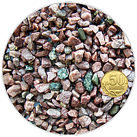 купить аквариумный Грунт кварцит малиновый фр. 5-10 мм