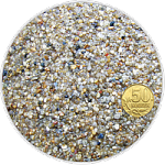 Грунт окатанный кварцевый песок (желтый) фр. 1,2-3 мм