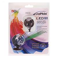 Подсветка светодиодная LED101-RED (KW) красная