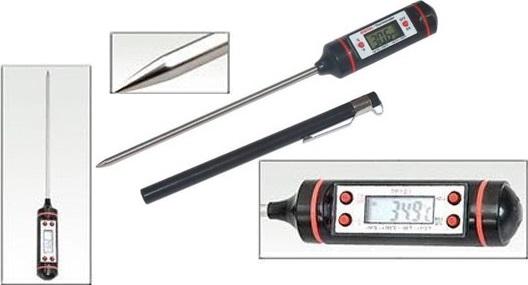 Термометр с щупом из нержавеющей стали