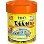 Tetra Tips 75 таблеток — корм-лакомство для всех видов рыб