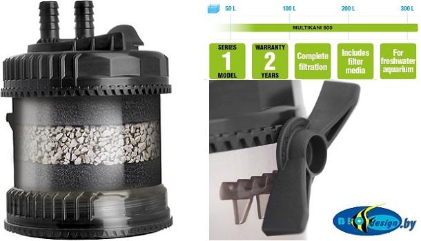 MULTI KANI 800 (AQUAEL) Внешний канистровый фильтр (от 20 до 320 л)
