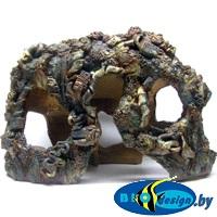 купить глиняные декорации в аквариум