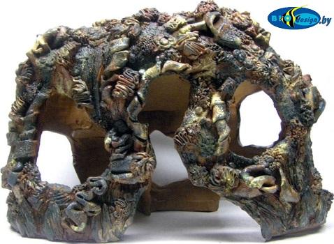 Декор для аквариума из глины своими руками 99