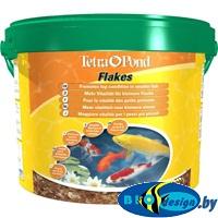 купить Корм для прудовых рыб Tetra Pond Flakes 10 л
