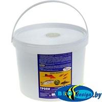 АКВА МЕНЮ ТРОПИ — хлопьевидный ежедневный корм для декоративных рыб в аквариумах смешанного сообщества, 2 кг (11 л)