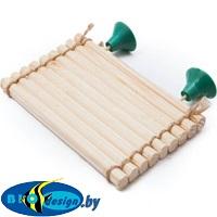 Плотик для черепах деревянный