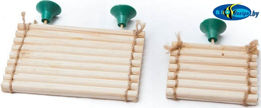 Плотик для черепах деревянный малый s