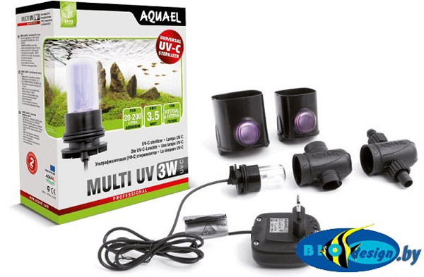 Стерелизатор Aquael UV AS 3w