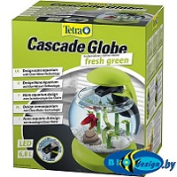 Круглый аквариум TETRA Cascade Globe fresh green (зеленый)