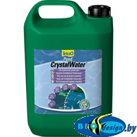 TetraPond Crystal Water 3 л - средство для очистки воды от мути - на 60000 литров воды