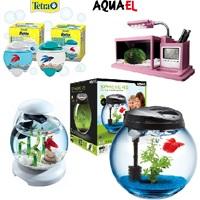 Круглые и мини аквариумы