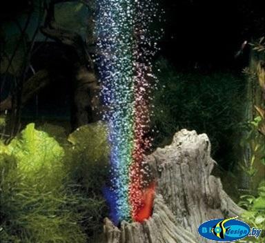 Декорация грот-вулкан для аквариума
