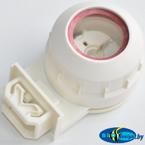 Патрон G-13 VOSSLOH SCHWABE гидроизолированный (белый) для ламп T8