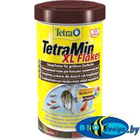 основной корм для рыб TetraMin Flakes XL (крупные хлопья) 1000 мл