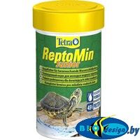 Tetra ReptoMin Junior 100 мл корм для водных молодых черепах