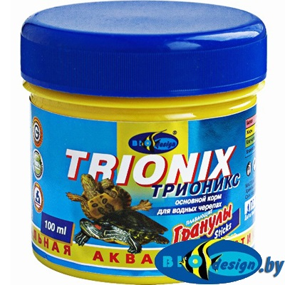 Корм для черепах Биодизайн Трионикс 100 мл
