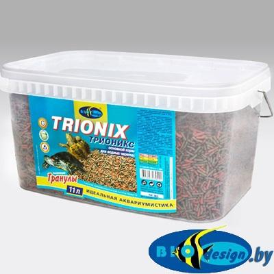Корм для черепах Биодизайн Трионикс 11 л