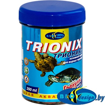 Корм для черепах Биодизайн Трионикс 200 мл